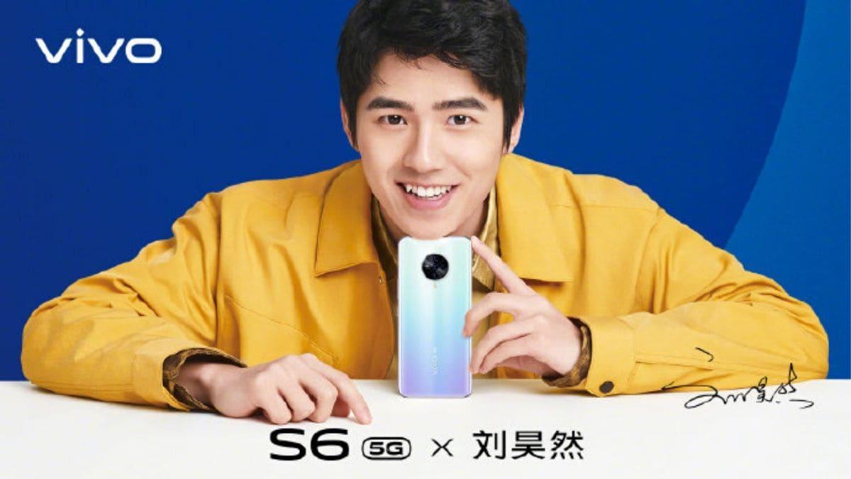 Vivo S6 5G Official Poster Reveals Oreo-Shaped Quad Rear Camera Setup