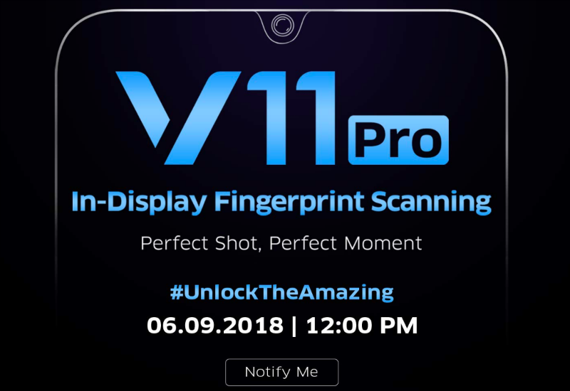 Vivo V11 Pro Teaser Amazon India Listing Vivo V11 Pro Amazon India Teaser
