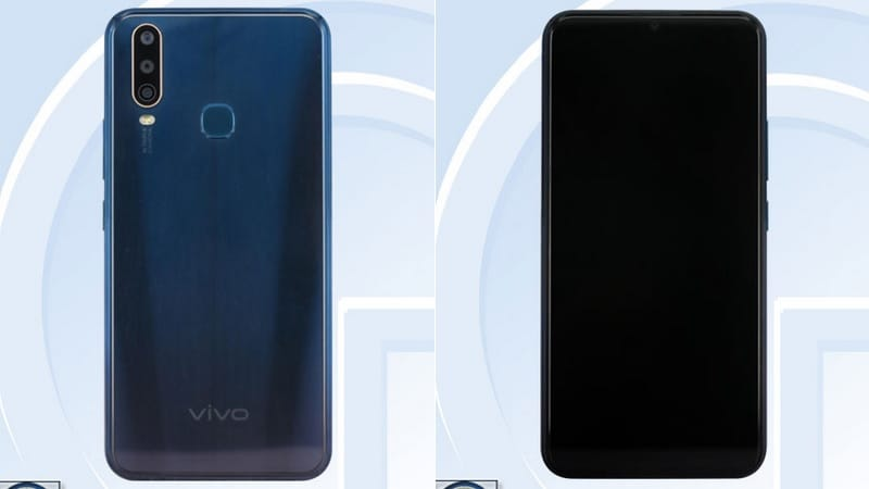 Vivo V1901 Spotted on TENAA With Triple Rear Cameras, 4,880mAh Battery