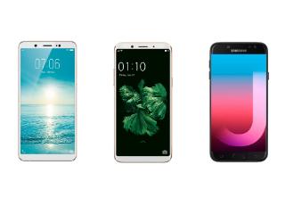 Vivo V7 vs Oppo F5 vs Samsung Galaxy J7 Pro: Price, Specifications Compared