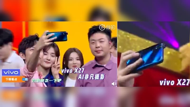 Vivo X27 With Pop-Up Selfie Camera Leaked in Images and Spotted on TENAA, Looks Similar to Vivo V15 Pro