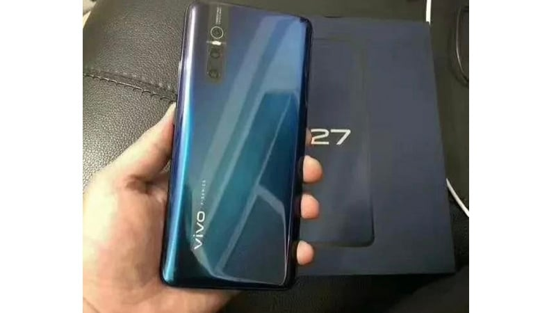 Vivo X27 Alleged Live Image Leaks Online, Looks Similar to V15 Pro