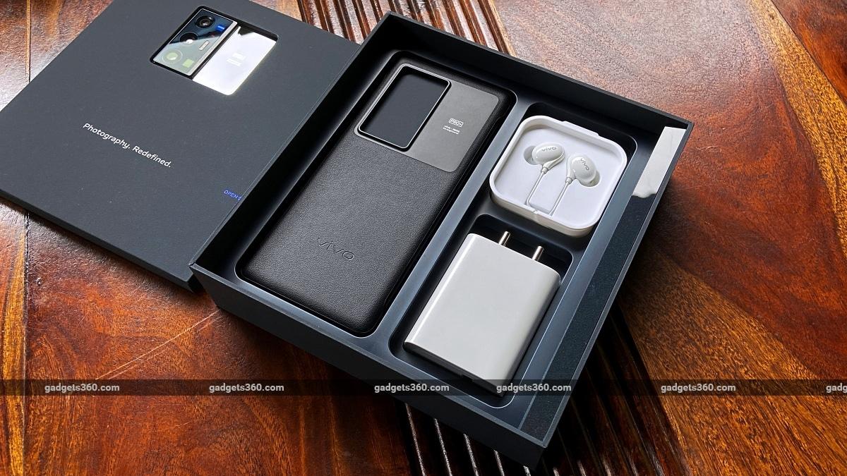 Vivo X70 Pro Plus box package ndtv Vivo VivoX70ProPlus