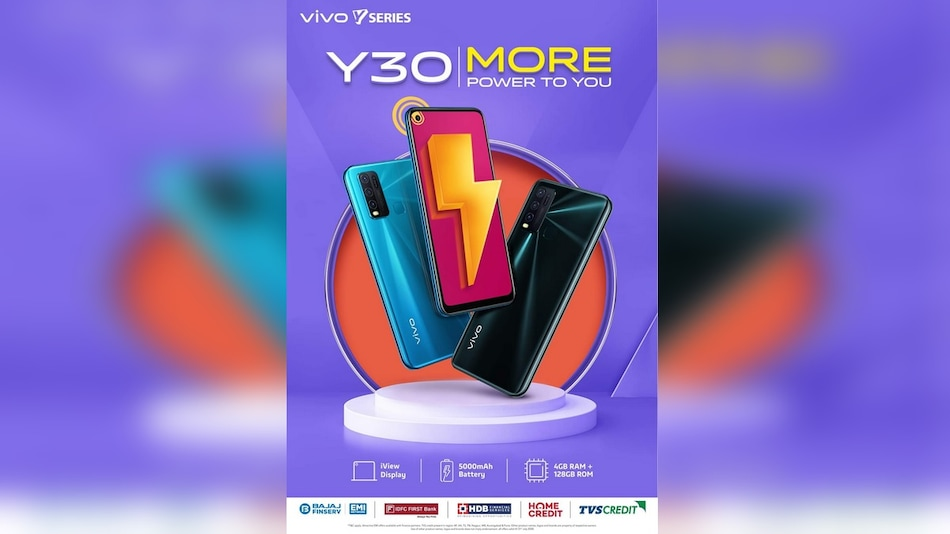 Vivo Y30 Tipped to Launch in India Soon, Priced at Rs. 14,990