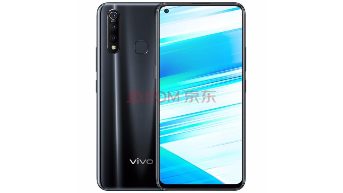 Vivo Z5x is official with punch-hole selfie camera, triple rear shooters