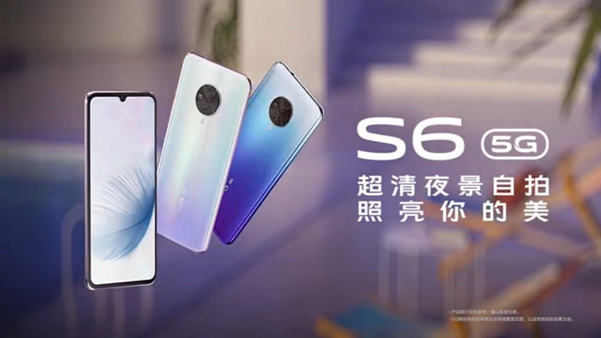 Vivo S6 5G Video Teaser Confirms Waterdrop-Style Notch, Colour Options Ahead of March 31 Launch