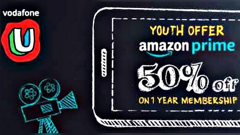 Vodafone to Offer 50 Percent Amazon Prime Discount to Prepaid Subscribers in 'Youth Offer'