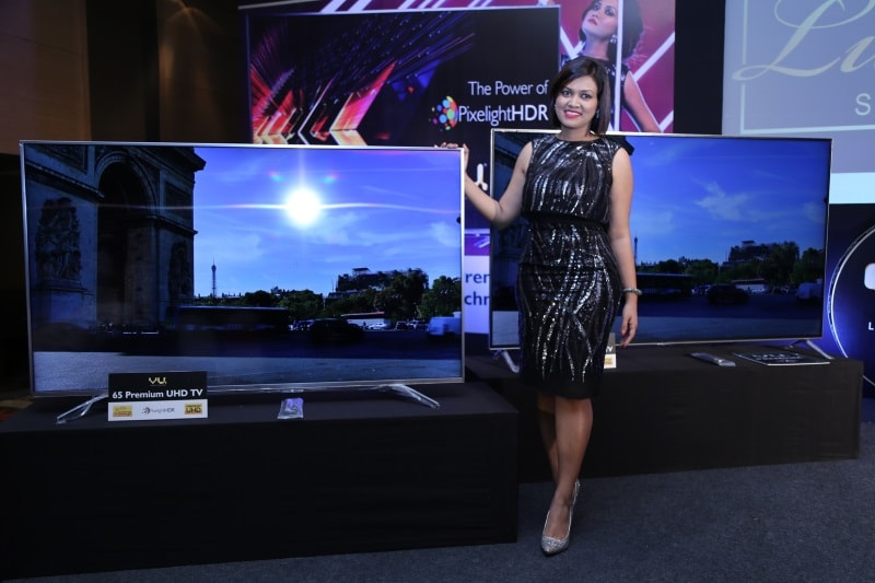 Vu Launches Premium UHD and Curved TVs in India, Starting Rs. 1,00,000
