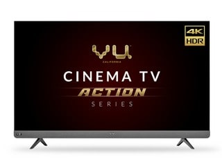Vu Cinema TV Action Series 55LX, 65LX With 100W Speakers, Up to 500 Nits Brightness Launched in India