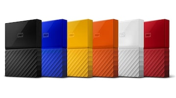 WD My Passport and My Book Hard Drives With New Design