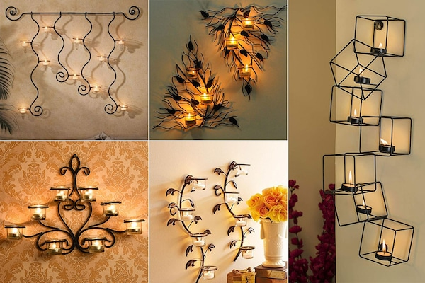 Wall Tealight Candle Holders That Are Exquisite, Classy And Elegant