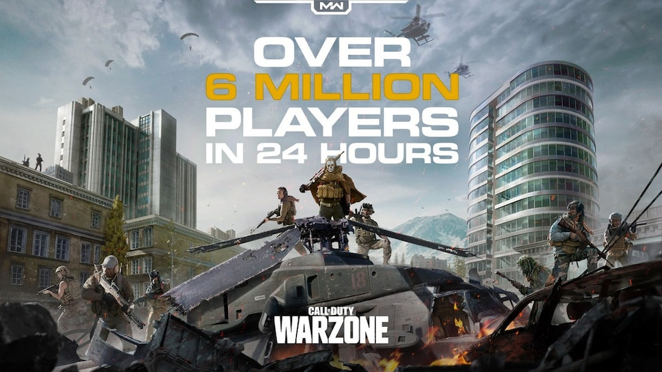 Call of Duty: Warzone Gets More Than 6 Million Players in 24 Hours Since Launch