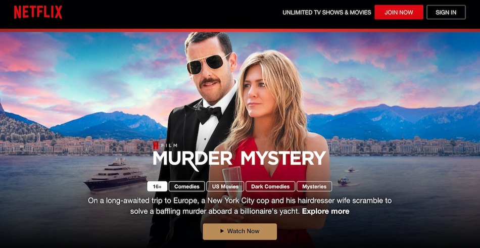 Netflix Is Offering Free Access to Select Original Movies and Series, Even Without an Account