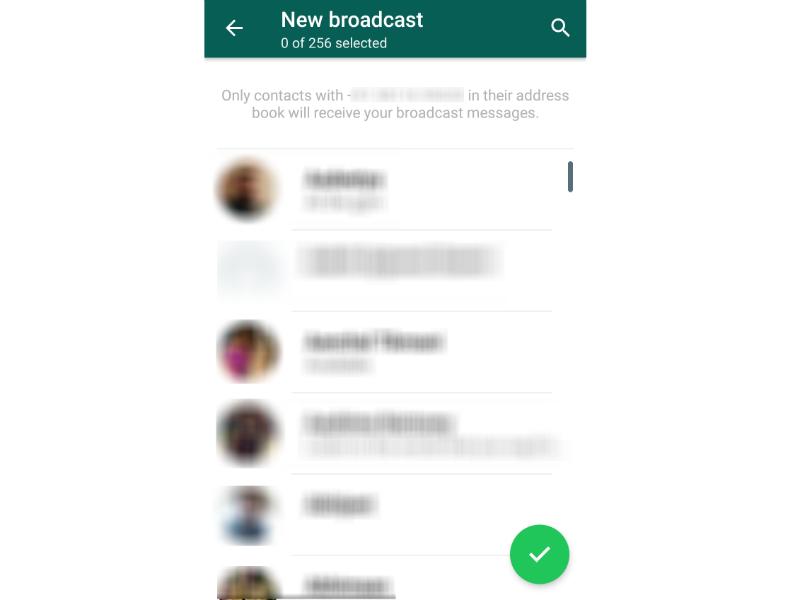 WhatsApp Broadcast WhatsApp Message Broadcast