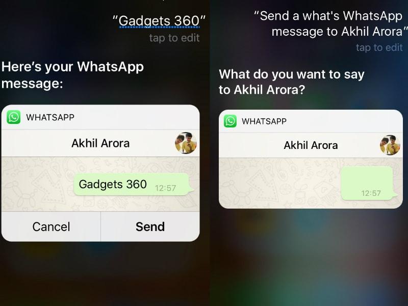 WhatsApp for iPhone Gets Siri Integration, Quick Forward Button