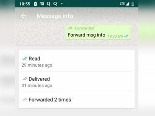 WhatsApp Update for Android Includes Traces of Dark Mode, Brings Forwarding Information
