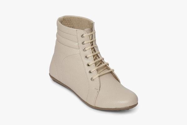 Wood Brough Beige Boots