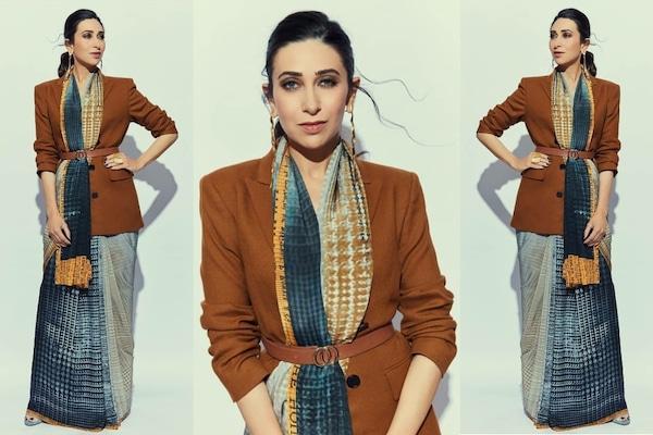 Make Your Workwear Look Classy Like Karisma Kapoor