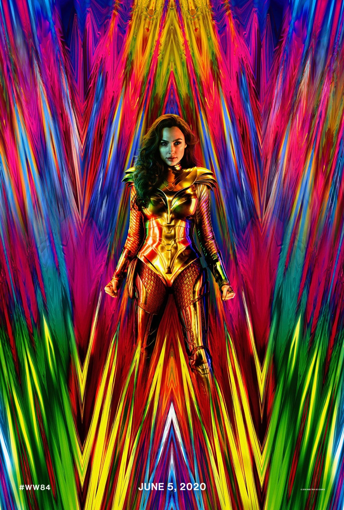 Wonder Woman 1984 Official Poster full Wonder Woman 1984 poster