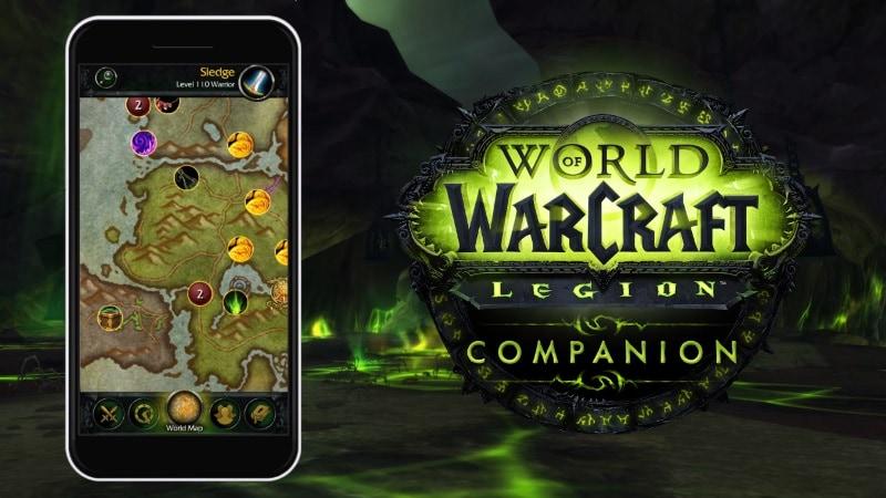 World of Warcraft: Legion Gets a Smartphone Companion App