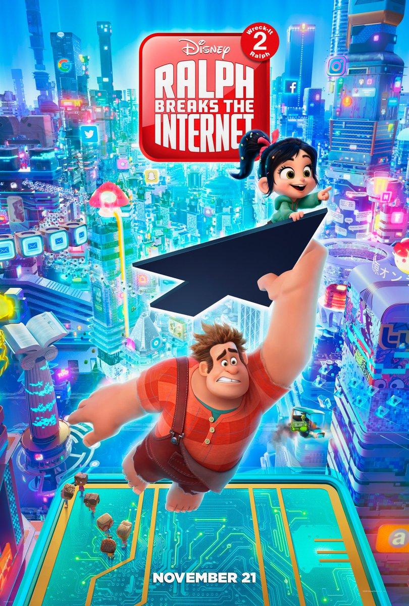 Wreck-It Ralph 2: Ralph Breaks the Internet (2018) {Hindi-English} 480p | 720p | 1080p