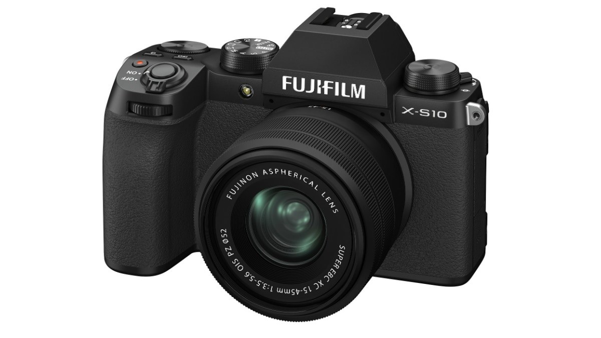 Fujifilm X-S10 Mirrorless Camera With In-Body Image Stabilisation Launched in India: Price and Specificat... - Gadgets 360