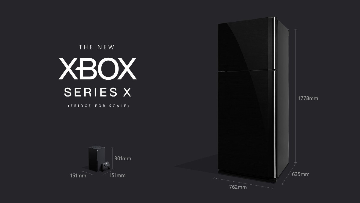 Microsoft Assures Xbox Series X Console Is Smaller Than a Fridge