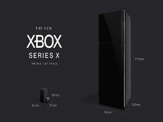 Microsoft Assures Xbox Series X Console Is Smaller Than a Fridge