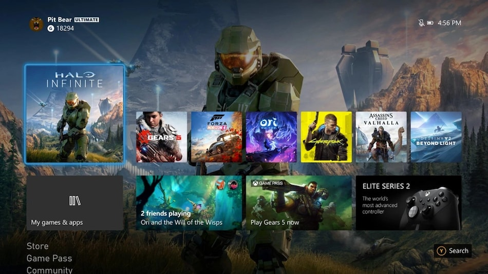 Xbox One Gets New Xbox UI With October Update, Ahead of Xbox Series X, Series S Release