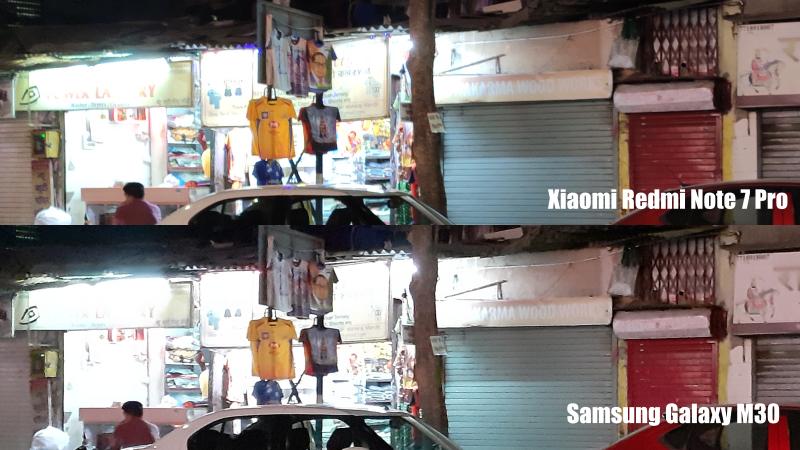 XiaomiRedmiNote7ProvsSamsungGalaxyM30Lowlight2 Xiaomi Redmi Note 7 Pro vs Samsung Galaxy M30
