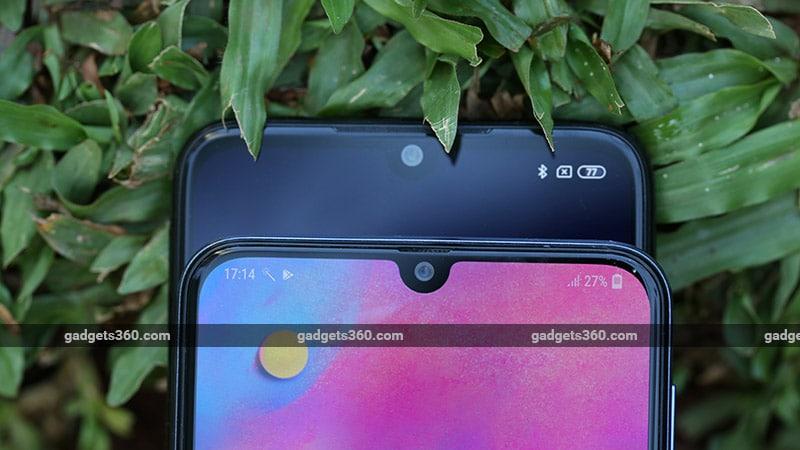XiaomiRedmiNote7ProvsSamsungGalaxyM30Notch Xiaomi Redmi Note 7 Pro vs Samsung Galaxy M30