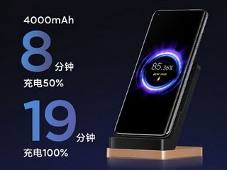 Xiaomi Announces 80W Fast Wireless Charging That Can Completely Charge a 4,000mAh Battery in Just 19 Minutes