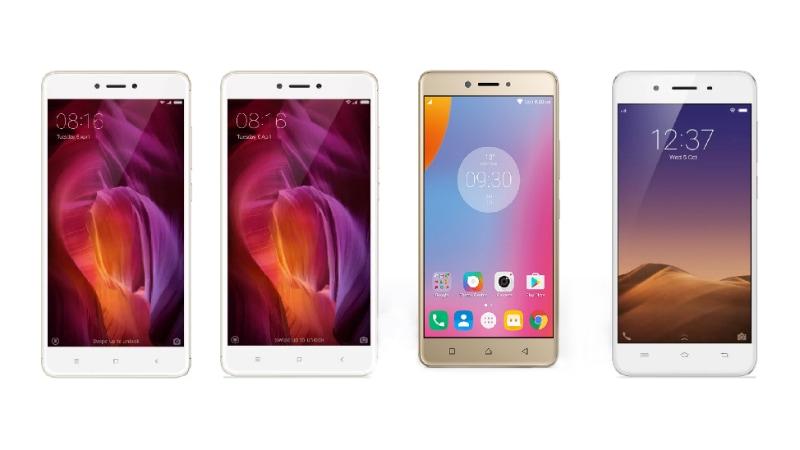 Xiaomi Redmi Note 4 vs Samsung Galaxy J7 (2016) vs Lenovo K6 Note vs Vivo Y55L: The Budget Battle Gets Tougher