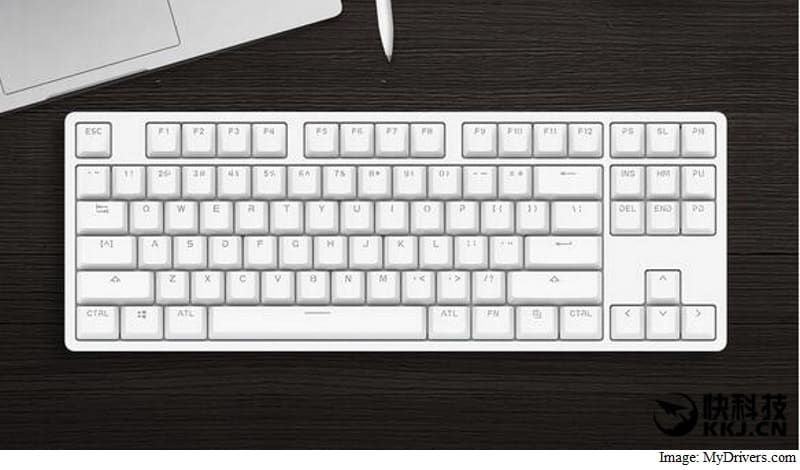 Xiaomi Mi Wyatt Meter Mechanical Keyboard With LED Backlighting Launched