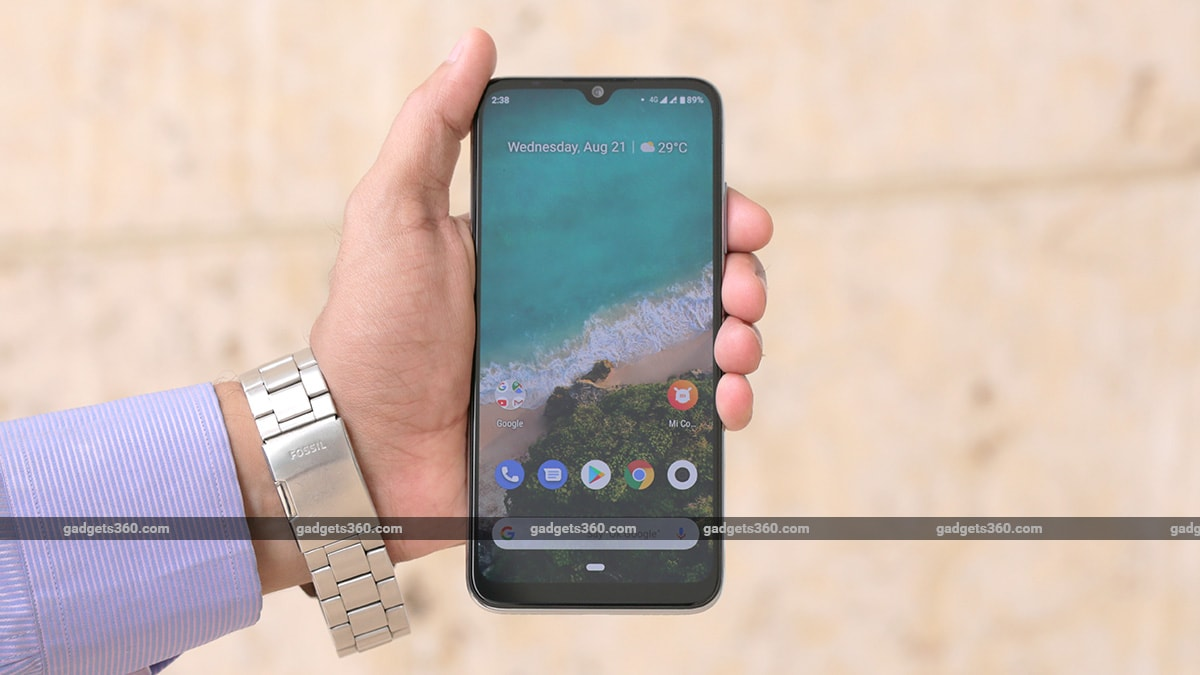 Mi A3 Goes on Open Sale in India via Amazon.in, Mi.com: Price, Specifications, Offers