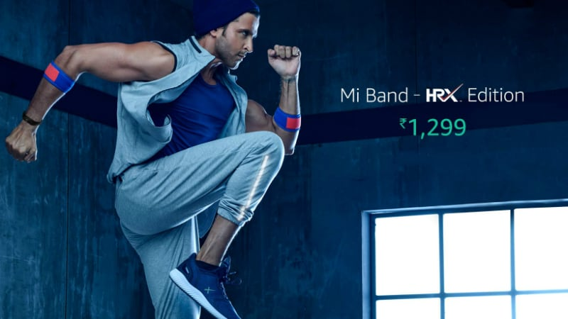 Xiaomi Mi Band HRX Edition With 23-Day Battery Life Launched in India: Price, Specifications