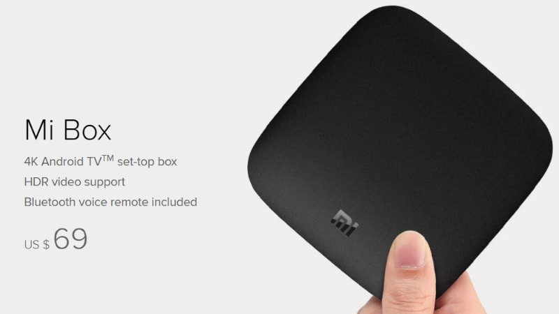Xiaomi Mi Box Android TV Set-Top Box Goes on Sale in the US for $69