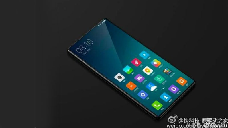 Xiaomi Mi Note 2 With Bezel-Less Display Likely to Launch ...