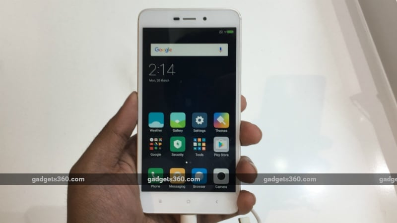 Xiaomi Redmi 4A With 4G VoLTE Support Launched at Rs. 5,999: Release Date, Specifications, and More