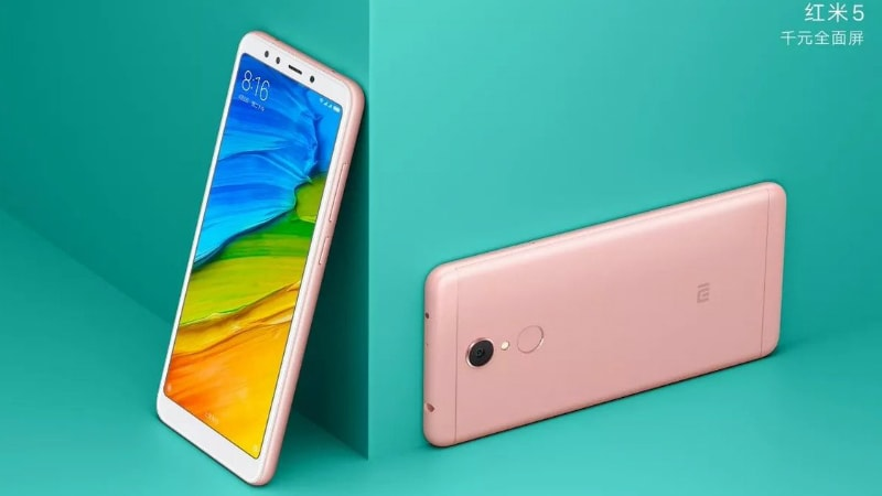 Redmi 5 Launched in India in 3 Variants, Price Starts at Rs