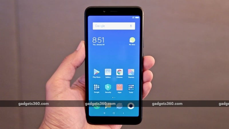 Xiaomi Redmi 6, Redmi 5A Flash Sales Today at 12pm in India