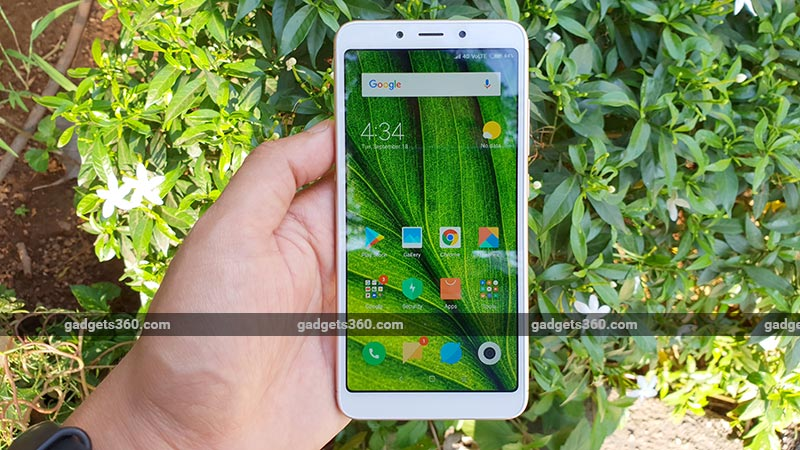 Xiaomi Redmi 6 64GB Storage Model, Redmi 6 Pro Available on Open Sale in India