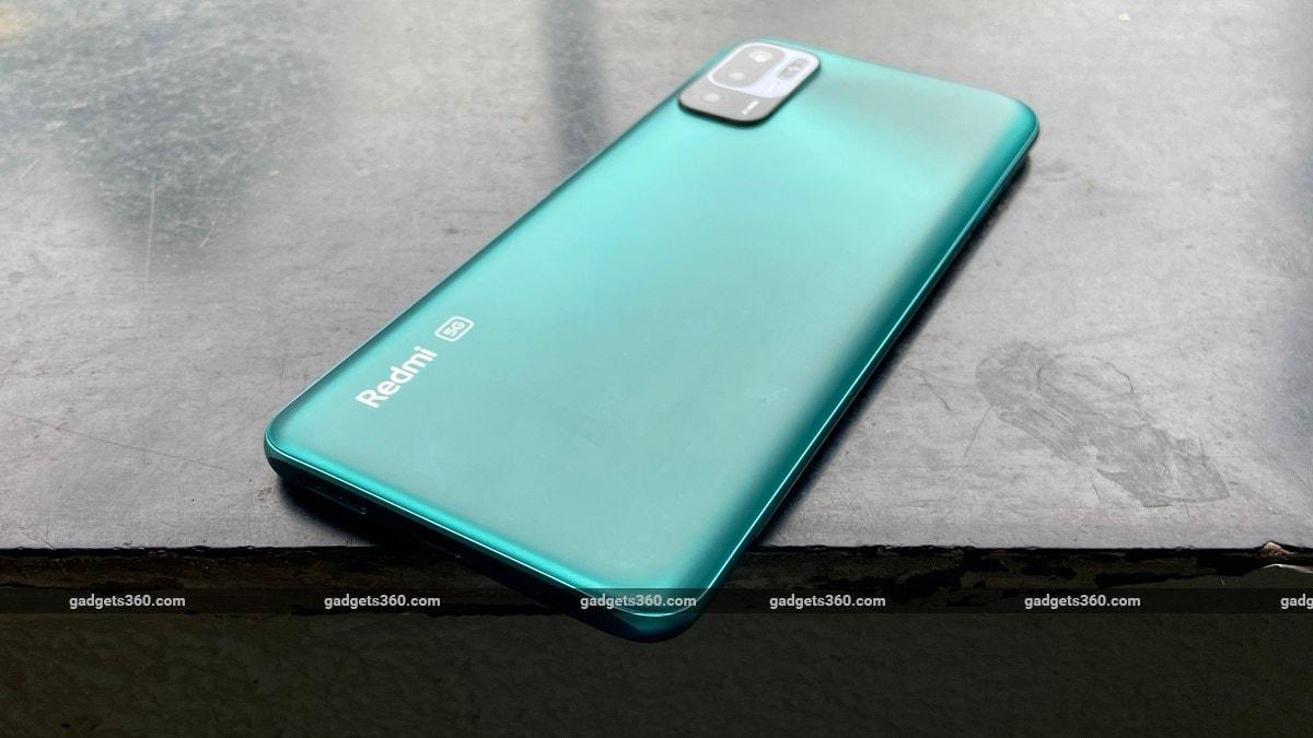 Xiaomi Redmi Note 10T 5G back ports ndtv XiaomiRedmiNote10T5G  Xiaomi  Redmi