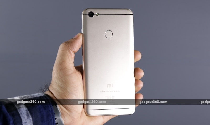 Xiaomi Redmi Y1 Back NDTV 075917 195927 1579 Xiaomi Redmi Y1 Review