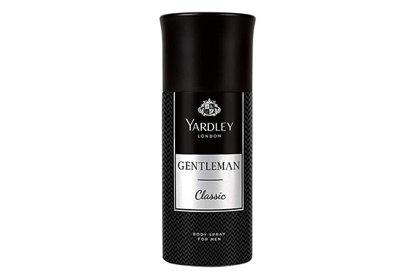 Yardley London Gentleman Classic Deo Body Spray for Men 1614592945422