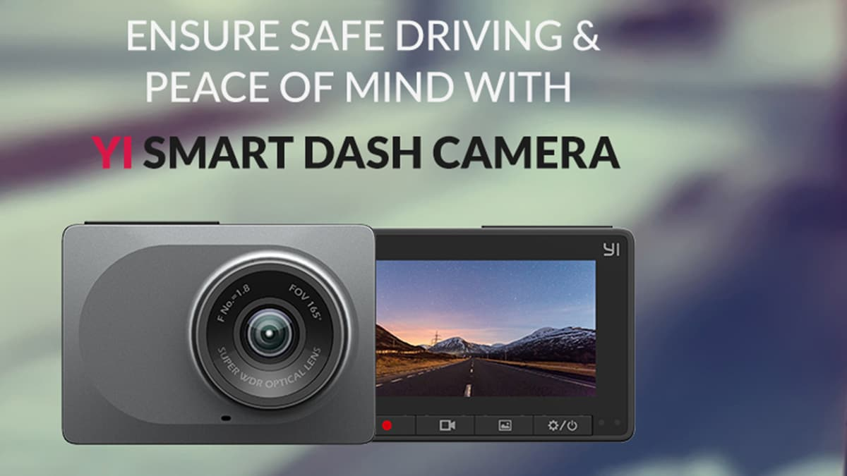 Yi Smart Dash Camera With a Wide-Angle Lens Launched in
