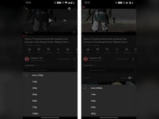 YouTube Brings Back HD Streaming on Mobile App in India When Connected to Wi-Fi