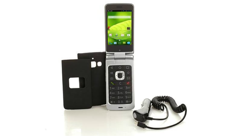 sale retailer 2c9d1 bb966 ZTE CYMBAL-T Android Flip Phone With 4G LTE Support Launched ...