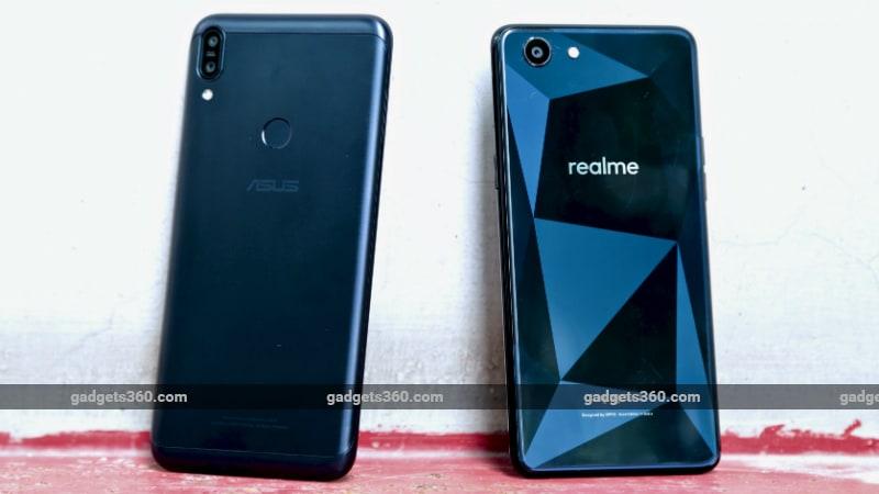 ZenFoneMax Realme1 Inline1 Asus ZenFone Max Pro M1 6GB vs Realme 1