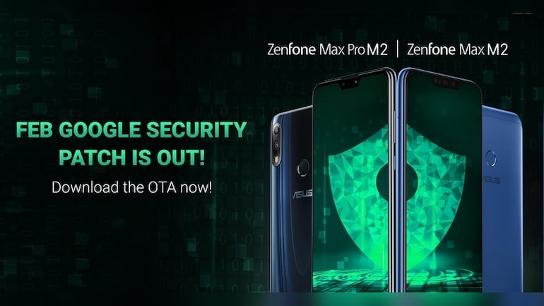Asus ZenFone Max Pro M2 is protected in software updates